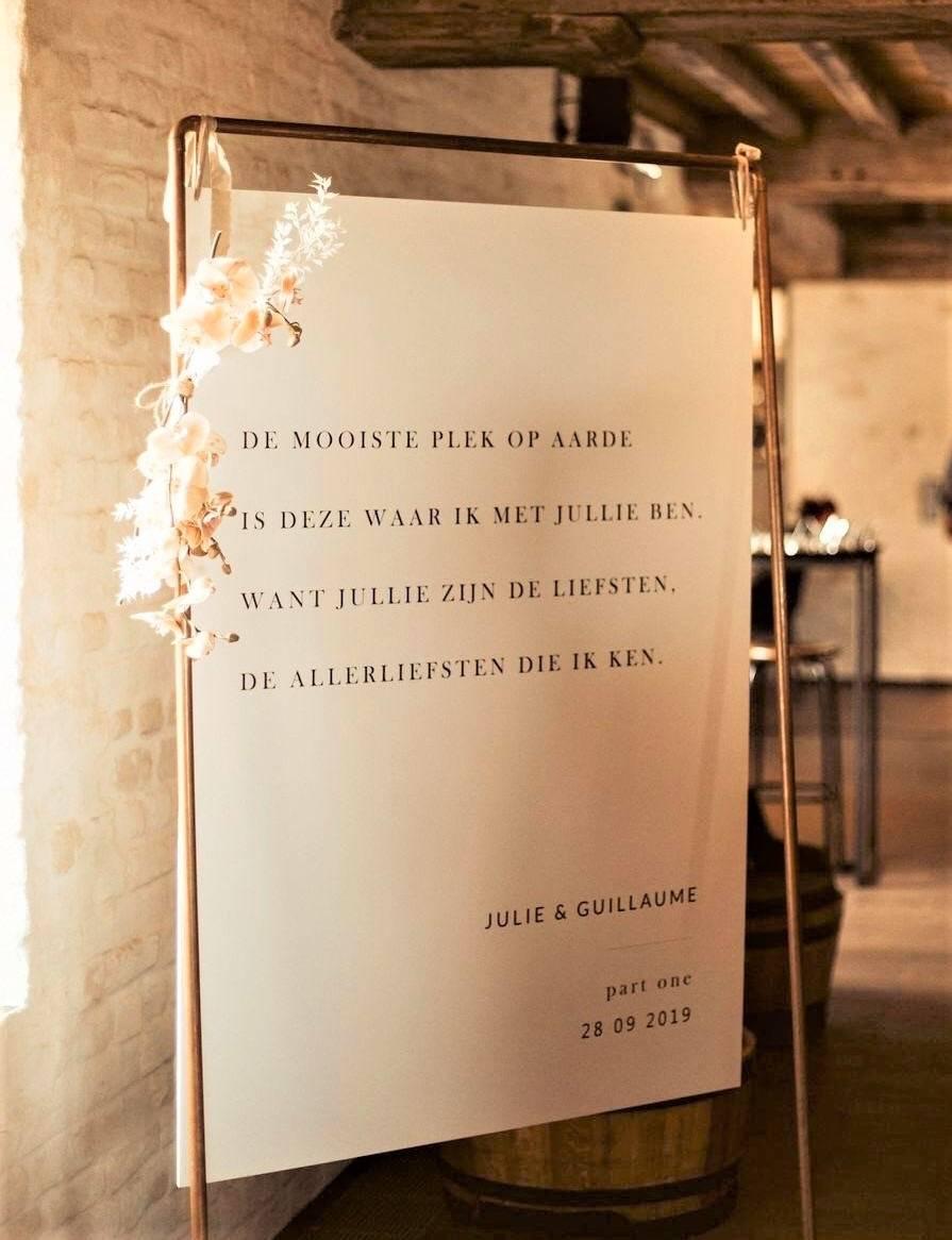 Touch of Gold - Trouwuitnodiging - Huwelijksuitnodiging - Kalligrafie - House of Weddings - 32