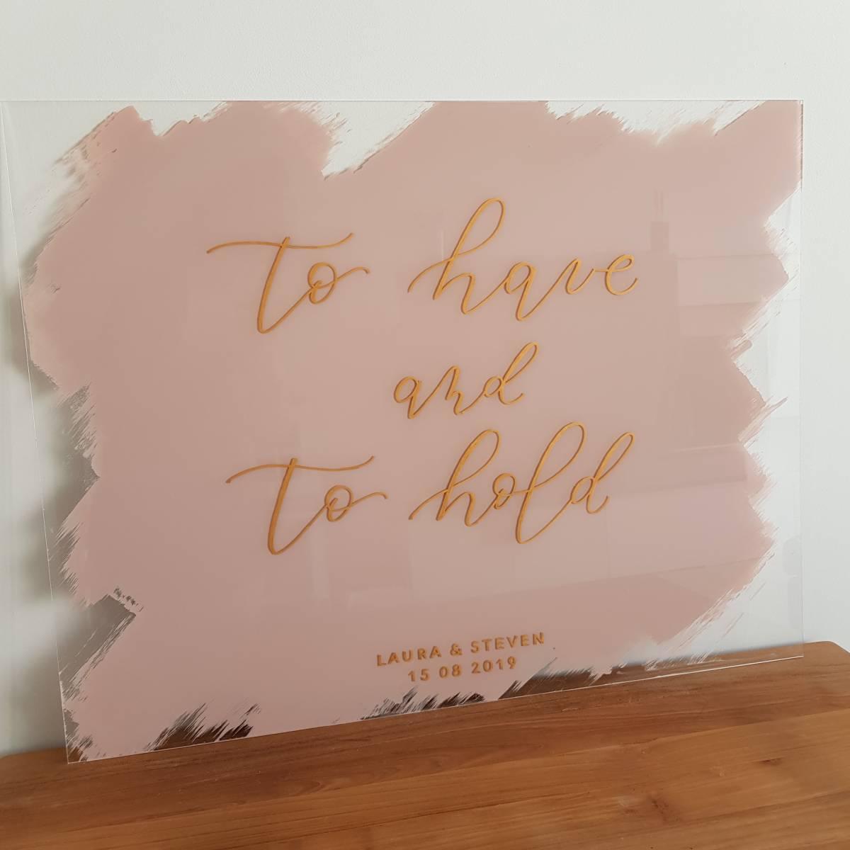 Touch of Gold - Trouwuitnodiging - Huwelijksuitnodiging - Kalligrafie - House of Weddings - 4