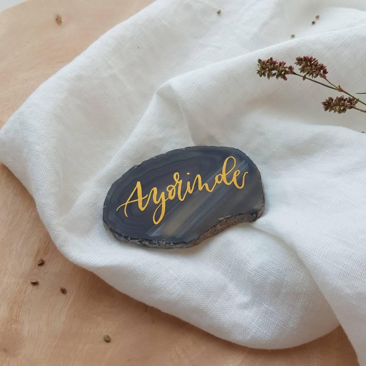 Touch of Gold - Trouwuitnodiging - Huwelijksuitnodiging - Kalligrafie - House of Weddings - 5