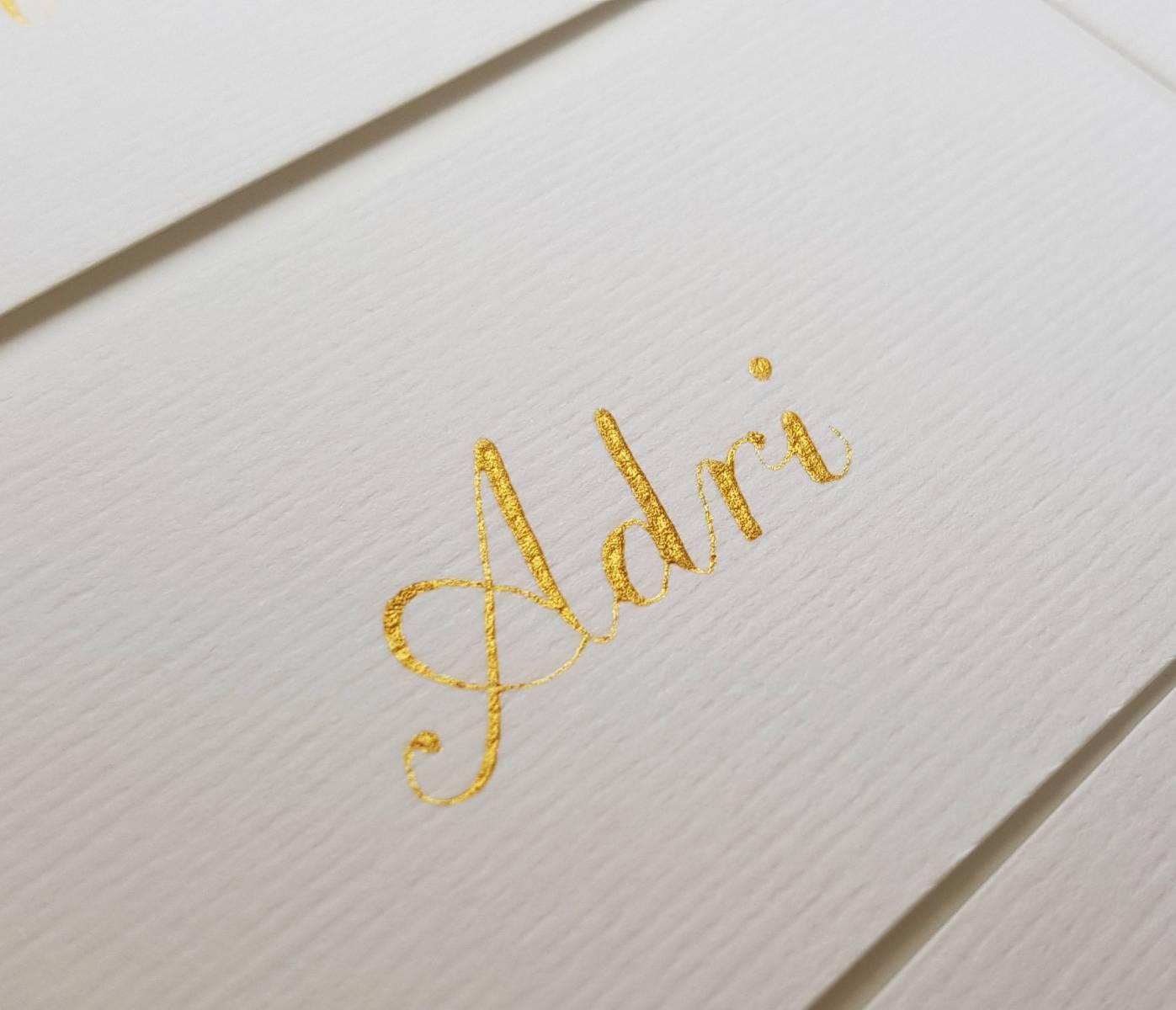 Touch of Gold - Workshops - Vrijgezellen - Trouwuitnodiging - Huwelijksuitnodiging - Kalligrafie - House of Weddings - 2