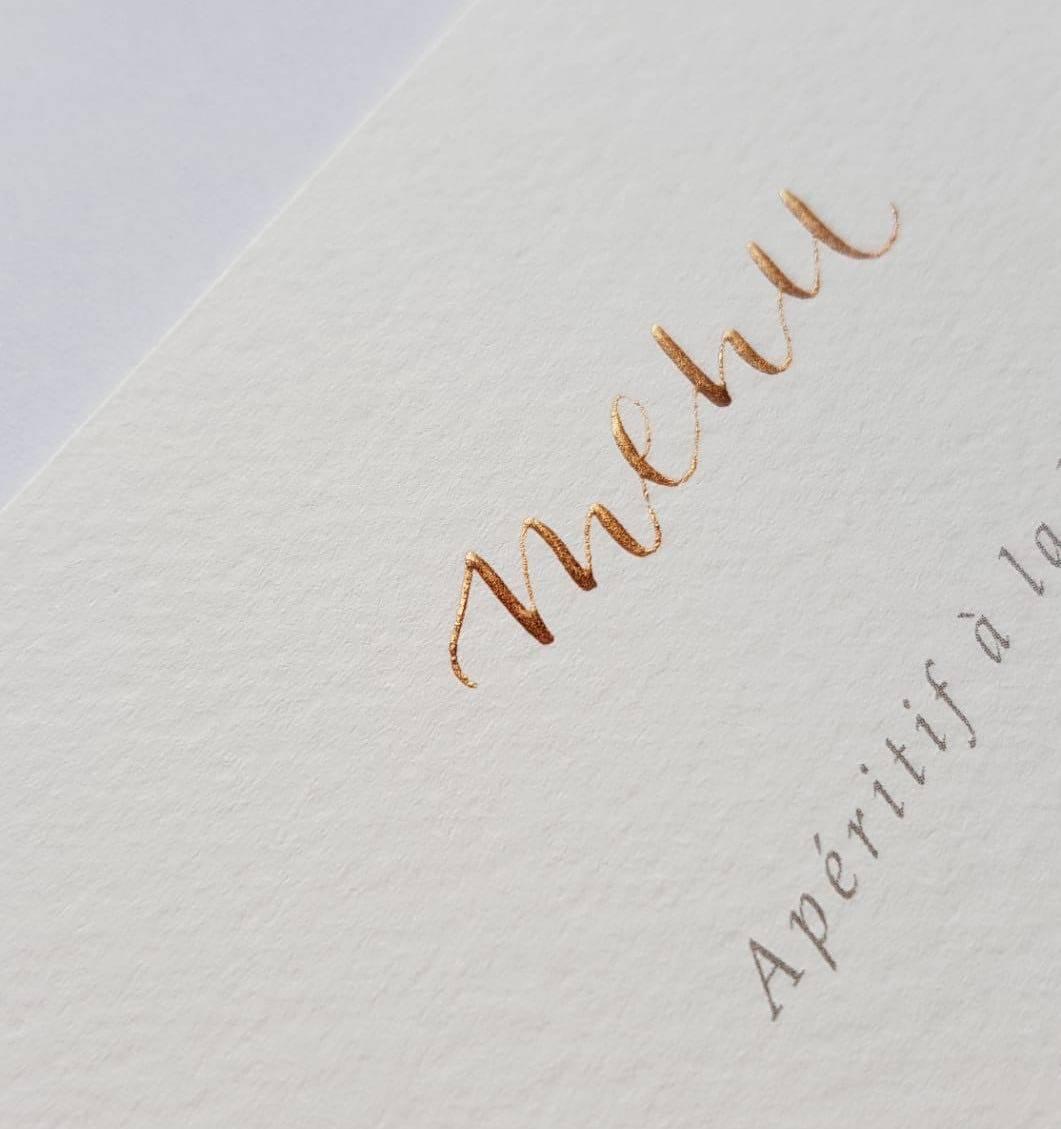 Touch of Gold - Workshops - Vrijgezellen - Trouwuitnodiging - Huwelijksuitnodiging - Kalligrafie - House of Weddings - 6