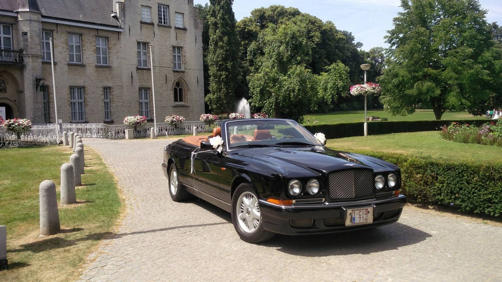Van Noten Ceremonies - Trouwvervoer - Bentley Azure Cabrio - House of Weddings - 1