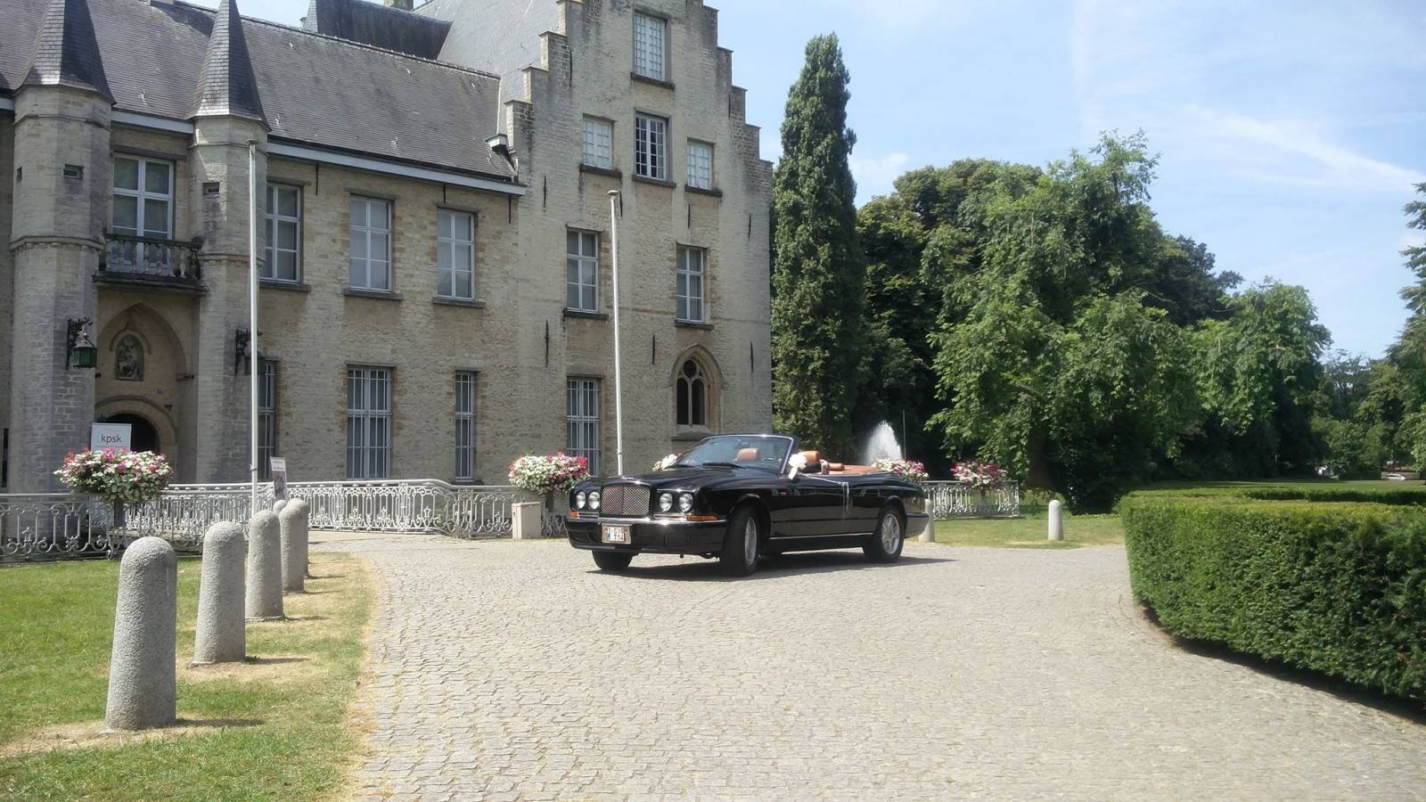 Van Noten Ceremonies - Trouwvervoer - Bentley Azure Cabrio - House of Weddings - 3