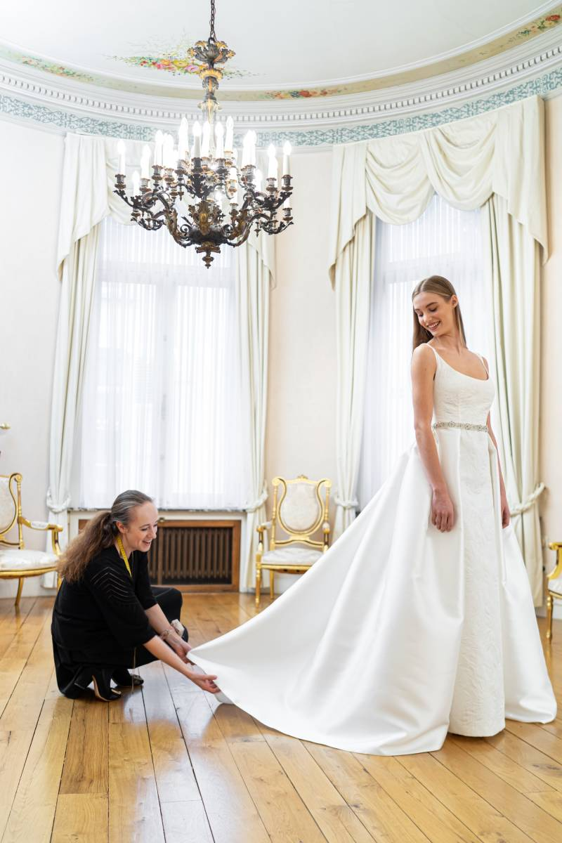 Veerle Praet Couture - Trouwjurken - Bruidsjurken - Trouwkleed - Suitekledij - House of Weddings - 28