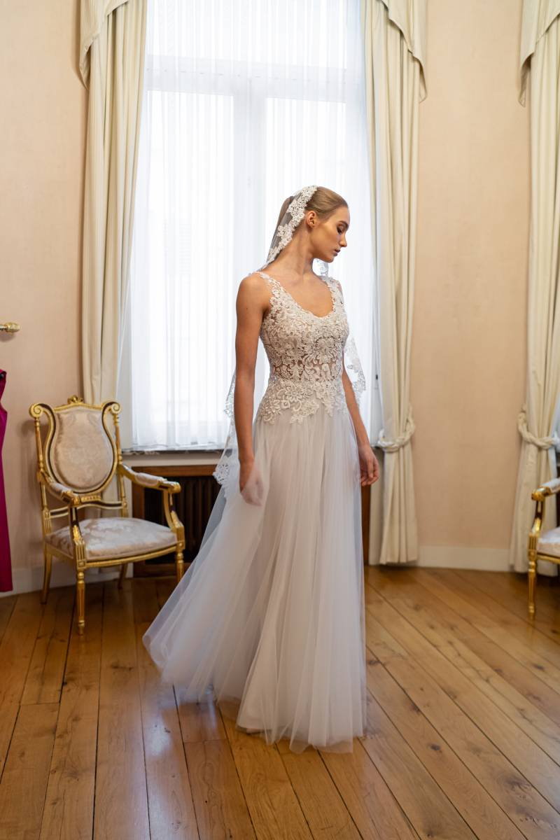 Veerle Praet Couture - Trouwjurken - Bruidsjurken - Trouwkleed - Suitekledij - House of Weddings - 9