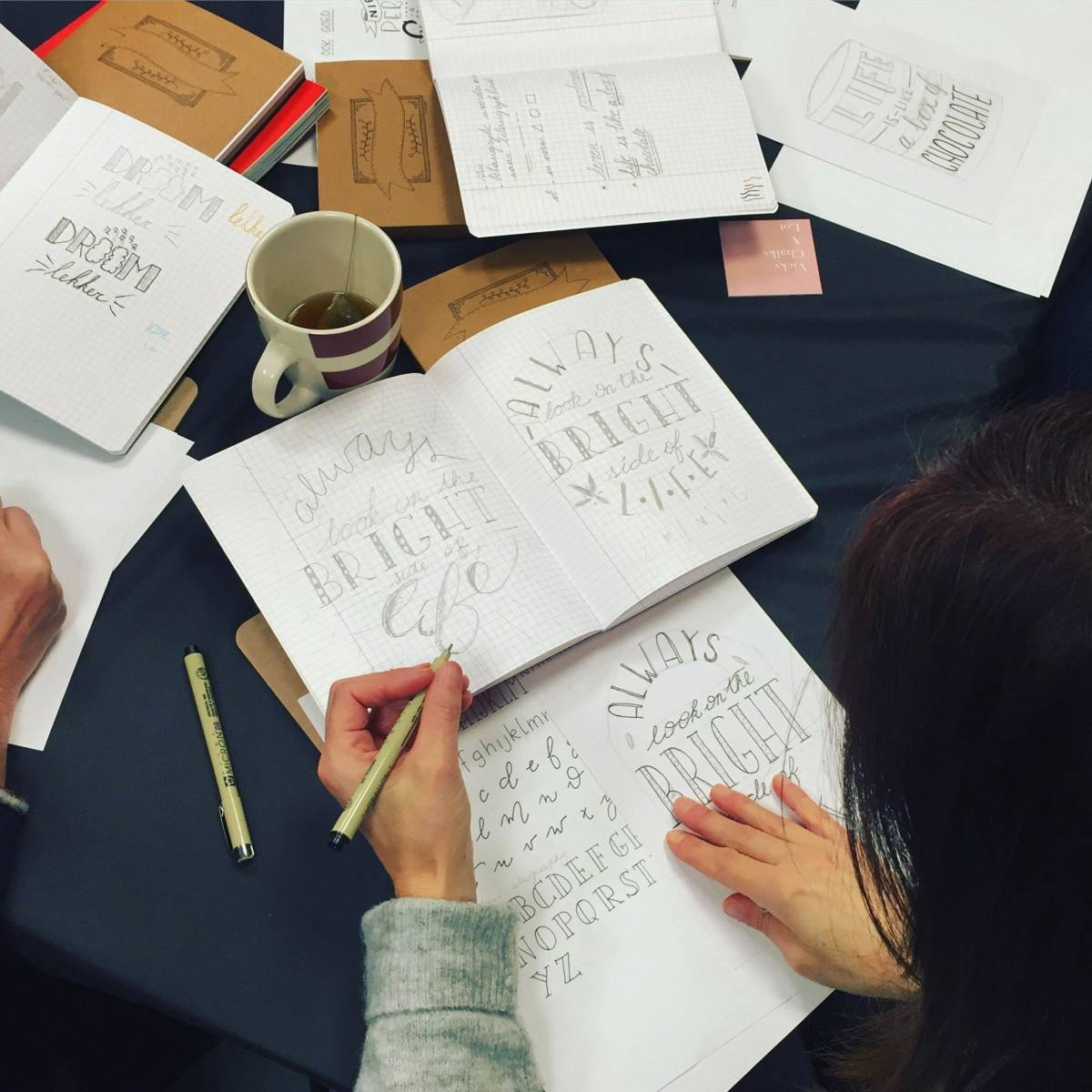 Vicky Chalks A Lot - Workshop Hand lettering - Vrijgezellen - House of Events - 11