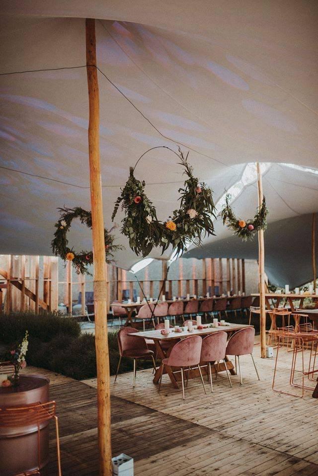 Wood receptietafel, stockholm rose, wood tafel, verona rose (2) - cachet events