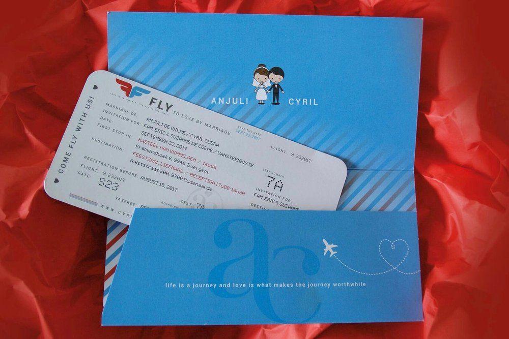 Bedwelming 7 originele uitnodigingen voor je huwelijk - House of Weddings &WT76