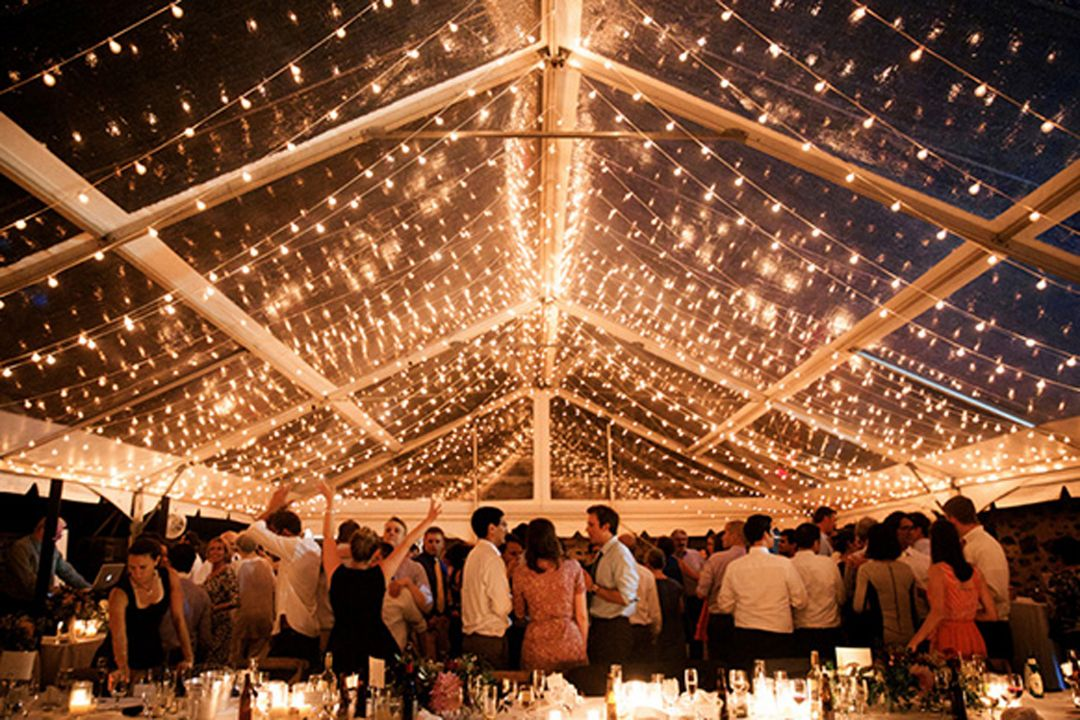 winterwedding in tent 1