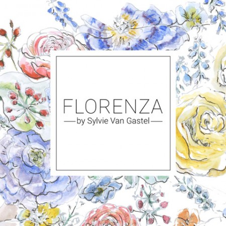 Logo - Florenza by Sylvie Van Gastel - House of Weddings Quality Label