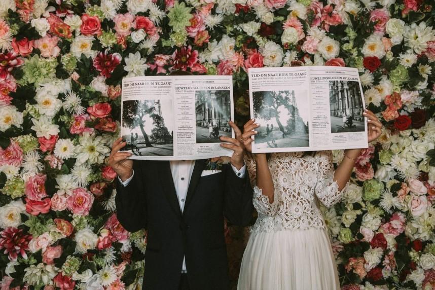 Bloemen op je huwelijk - flowerpower - Leentje Loves Light
