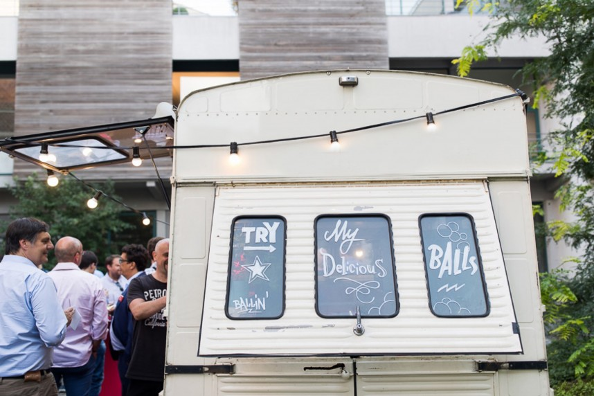 foodtrucks op je trouwfeest - balls and glory