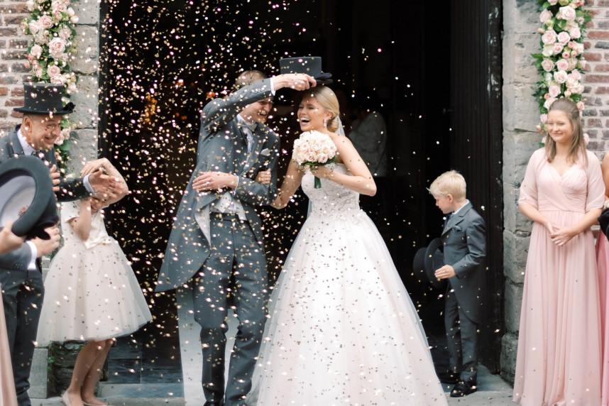 Stephanie & Pieterjan - Gert Huygaerts - House of Weddings - 1