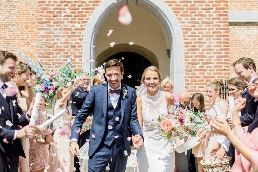 WP Madame est Servie - Real Wedding - Alexandra & Pieterjan - Elisabeth Van Lent - Locatie Ferme de Balingue - Bloemen Wild Flower Fairy - House of Weddings  (45)